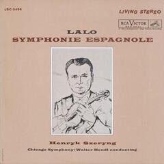 Henryk Szeryng Lalo: Symphonie Espagnole (LP) Avdiofilska kakovost zvoka