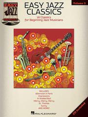 Hal Leonard Easy Jazz Classics