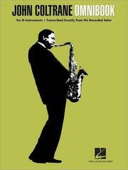 John Coltrane Omnibook Clarinet, Saxophone, etc