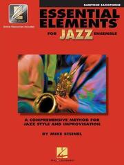 Hal Leonard Essential Elements for Jazz Ensemble Baritone Saxophone