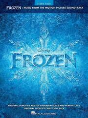 Disney Frozen Piano Music from the Motion Picture Soundtrack
