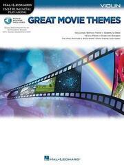 Hal Leonard Great Movie Themes: Instrumental P-A Violin Violin Music Book