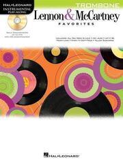 Hal Leonard Play Along: Lennon & McCartney Favourites Trombone