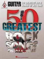Hal Leonard Guitar World: 50 Greatest Rock Songs Of All Time