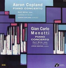 Aaron Copland Copland/Menotti: Piano Concerto/Earl Wild (LP) Qualité audiophile