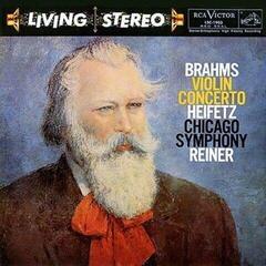 Fritz Reiner Brahms: Violin Concerto/ Jascha Heifetz, violin (LP) Audiophile Quality