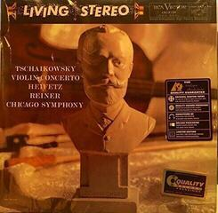 Fritz Reiner Tchaikovsky: Violin Concerto/ Heifetz, violin (LP) Audiophile Quality