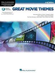 Hal Leonard Great Movie Themes: Instrumental P-A Horn Horn