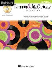 Hal Leonard Play Along: Lennon & McCartney Favourites Horn