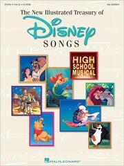 Disney New Illustrated Treasury Of Disney Songs Piano