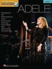 Adele Easy Piano Play-Along Volume 4