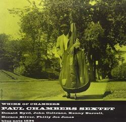 Paul Chambers Whims of Chambers (2 LP) Audiophile Quality