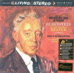 Arthur Rubinstein Rachmaninoff: Rhapsody on a Theme of Paganini/Falla: Nights in the Gardens of Spain (LP)