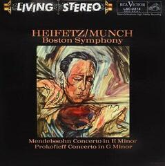 Charles Munch Mendelssohn: Concerto in E Minor/Prokofiev: Concerto No. 2 in G Minor (LP) Audiophile Quality