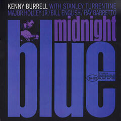 Kenny Burrell Midnight Blue (2 LP) Audiophile Quality