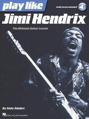 Hal Leonard Play like Jimi Hendrix Guitar [TAB]