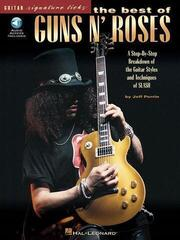 Hal Leonard The Best Of Guns N' Roses Guitar