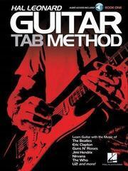 Hal Leonard Hal Leonard Guitar Tab Method