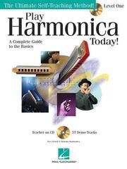 Hal Leonard Play Harmonica Today! Level 1