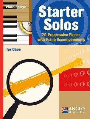 Hal Leonard Starter Solos Oboe and Piano