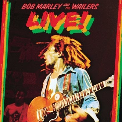 Bob Marley & The Wailers Live! (Vinyl LP)