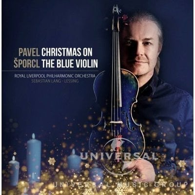 Pavel Šporcl Christmas On The Blue Violin (2 LP)