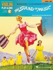 Hal Leonard The Sound of Music Violin Nuty