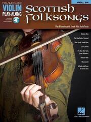 Hal Leonard Scottish Folksongs Violin Music Book