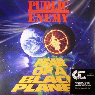 Public Enemy Fear Of A Black Planet (Vinyl LP)