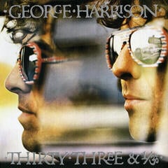 George Harrison Thirty Three & 1/3 (LP)