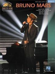 Bruno Mars Piano Music Book