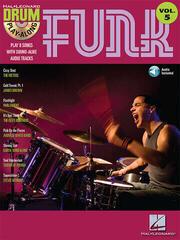 Hal Leonard Funk Drums Nuty
