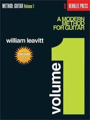 Hal Leonard A Modern Method for Guitar - Vol. 1