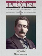 Puccini Play Puccini - Horn Noty