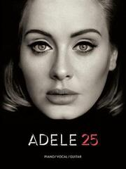 Adele 25 Piano, Vocal and Guitar