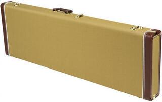 Fender Pro Series Precision Bass/Jazz Bass Case Tweed with Orange