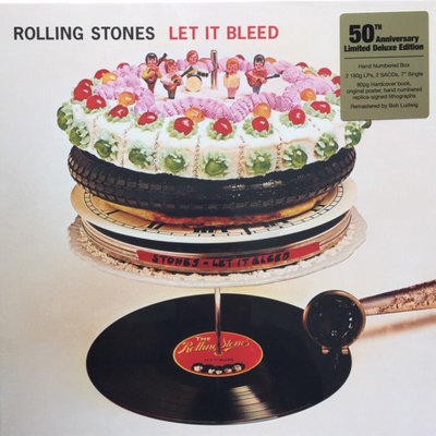 The Rolling Stones Let It Bleed (50th Anniversary Limited Deluxe Edition) (5 LP)