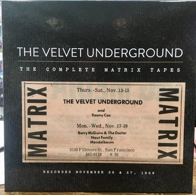 The Velvet Underground The Complete Matrix Tapes (8 LP Box Set)