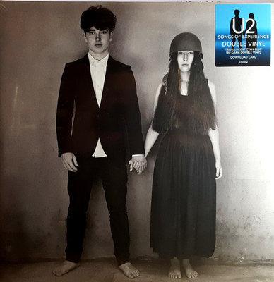 U2 Songs Of Experience (Blue Coloured Vinyl) (2 LP)