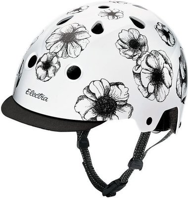 Electra Helmet Flowers S