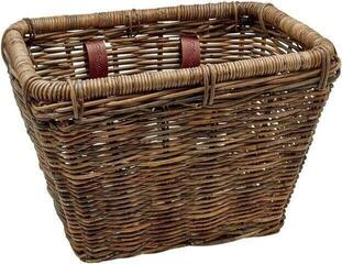 Electra Rattan Rectangular Basket Brown