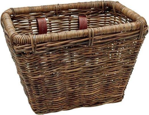 Electra Rattan Rectangular Basket Brown