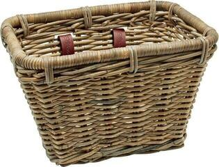 Electra Rattan Rectangular Basket Kubu Grey
