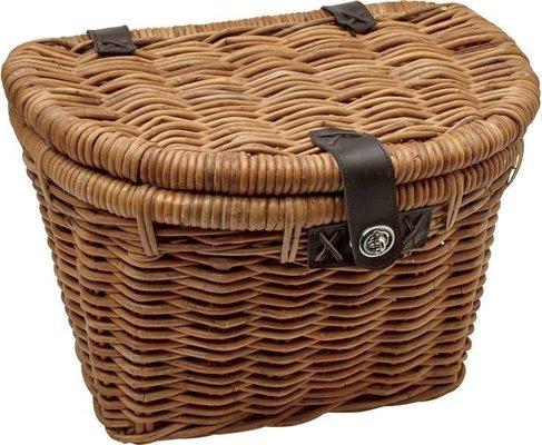 Electra Rattan Woven Basket Natural