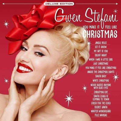 Gwen Stefani You Make It Feel Like Christmas (2 LP Deluxe White Vinyl)