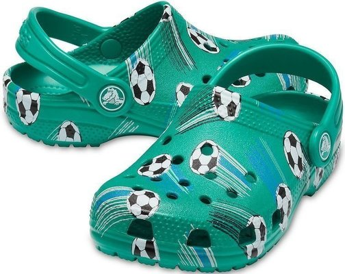 Crocs Preschool Classic Sport Ball Clog Deep Green 25-26