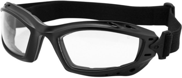 Bobster Bala Adventure Goggles Black Lenses Clear
