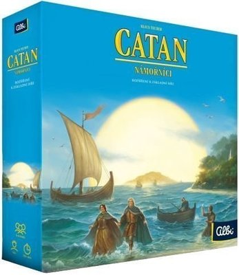 Albi Osadníci z Katanu - Námorníci Basic Game