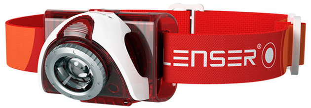 Led Lenser SEO 5 Headlamp Red