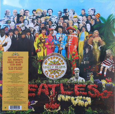 The Beatles Sgt. Pepper's Lonely Hearts Club Band (2 LP) 180 g